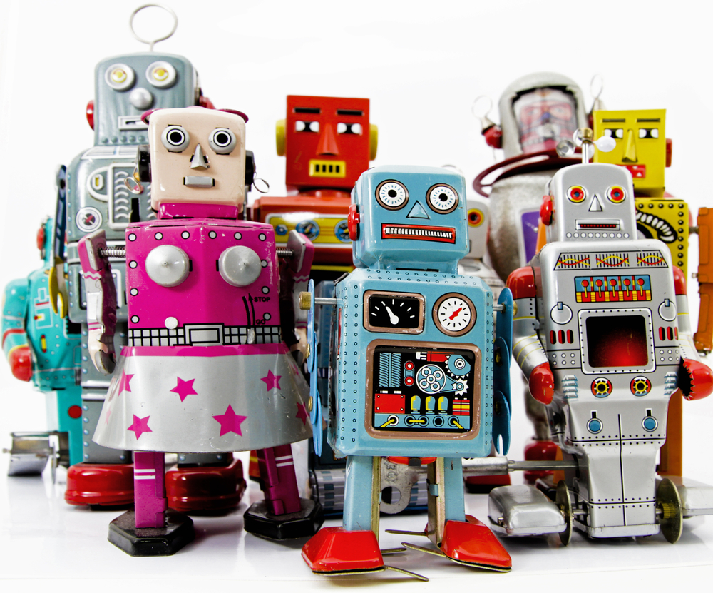 Toys For Robots : Mechanisch speelgoed